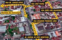 Contorno de quadra da Bomba do Gonzaga, em Maceió, começa a funcionar nesta segunda-feira