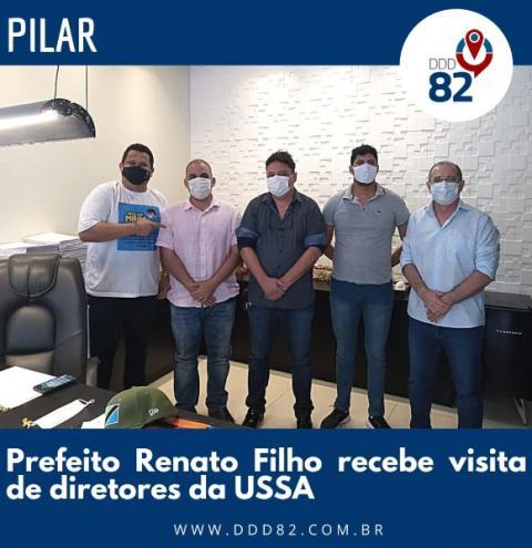 Bem avaliado prefeito Renato Filho recebe diretoria da USSA