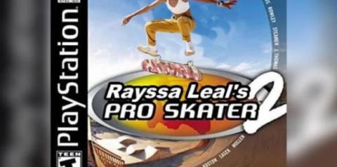 Rayssa Leal, a fadinha do skate, vira personagem de Tony Hawk's 2