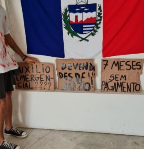 Artistas criticam calote do governo de AL e cobram pagamento de recursos da Lei Aldir Blanc