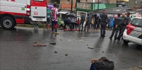 Pancadaria entre torcedores do São Paulo e Corinthians deixa 14 feridos