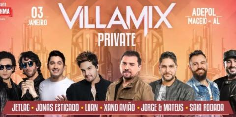 Jorge e Matheus, Xand Avião e Luan Santana agitam o Festival Villa Mix Maceió
