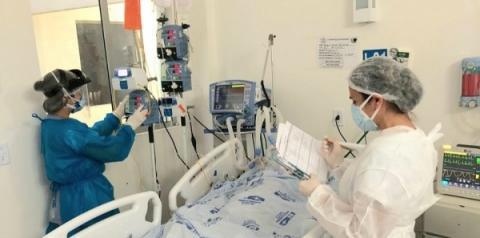 Homens acima de 70 anos são maioria dos pacientes internados no HEA com Covid-19