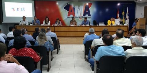 Representantes de Alagoas reuniram-se hoje na AMA para discutir a situação do leite produzido no Estado