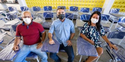 GOVERNO DE ALAGOAS RENOVA MOBILIÁRIO ESCOLAR DE 100% DAS UNIDADES DA REDE PÚBLICA DE ENSINO