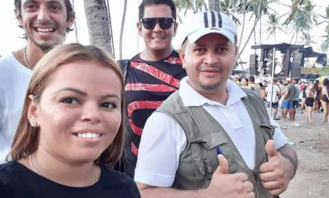 Prévias carnavalescas: Nina de Marré estreia como repórter do site DDD82