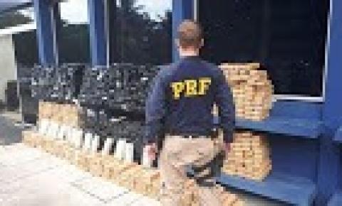 Polícia apreende 1 tonelada de maconha em caminhão no Distrito Federal