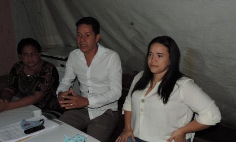 Juliana Mateus confirma Dino como pré-candidato a vice-prefeito de Santa Luzia Do Norte em Alagoas