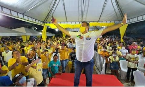 Cristiano Mateus em Pão de Açúcar é aclamado em convenção candidato do MDB para Prefeito