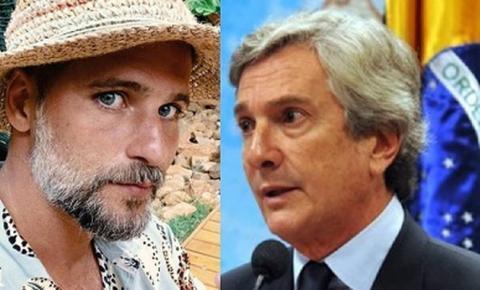 Ator Bruno Gagliasso e o senador Fernando Collor trocam farpas nas redes sociais