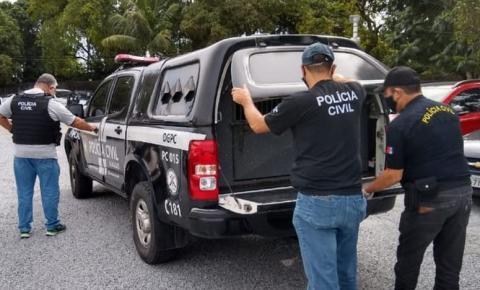 Polícia Civil prende homem que esfaqueou a mãe e ameaçava esposa no interior de Alagoas