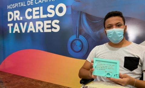 Em menos de 72 horas, Hospital de Campanha registra 1ª alta médica