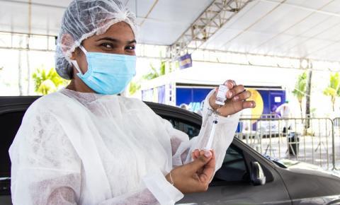 Recorde na vacinação: Maceió vacinou 6.653 pessoas apenas nessa quinta-feira