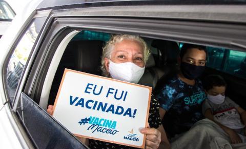 Maceió já vacinou 11,24% da população contra a Covid-19