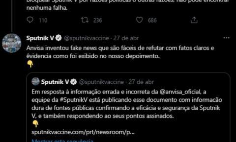 Anvisa 'refuta acusação' feita pelos desenvolvedores da Sputnik de que agência divulgou informações falsas sobre adenovírus replicante