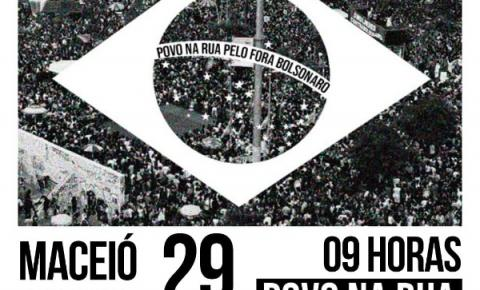 29 de maio: Dia Nacional do POVO NA RUA PELO FORA BOLSONARO