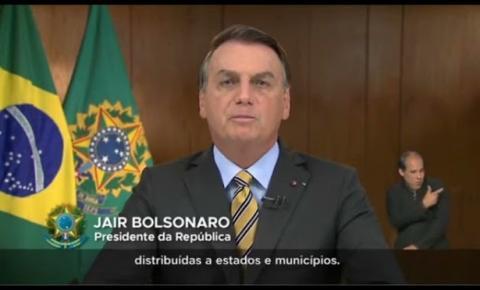 Bolsonaro fala sobre vacinação, emprego e retomada econômica; assista!