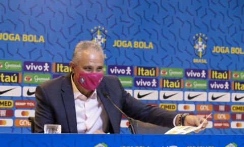 Tite diz que jogadores da Seleção pediram para o Brasil não sediar a Copa América