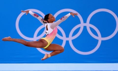 Rebeca Andrade será porta-bandeira do Brasil no encerramento