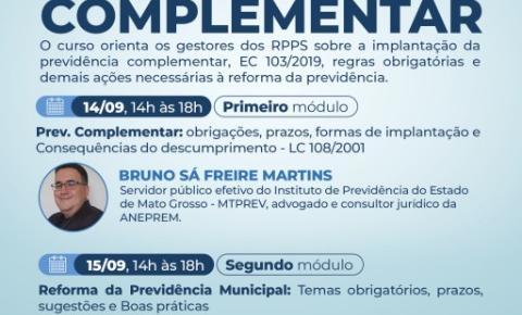 AMA abre inscrições para curso de previdência complementar