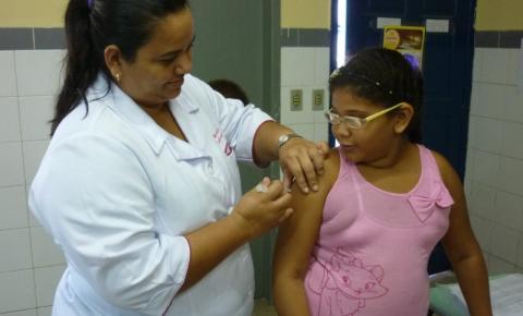 Saúde destaca a importância de completar a imunização de crianças e adolescentes