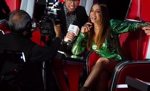 Anitta fala sobre 'La Voz' após final de reality musical no México: 'Feliz por formar uma família'