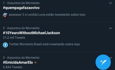 A greve dos jornalistas de Alagoas é um dos assuntos mais comentados no Twitter.